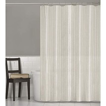 MAYTEX Linen Stripe, Shower Curtain, - $28.22