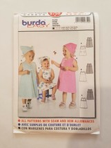 Sewing Pattern Baby Girl Toddlers Clothing Sizes 6M 9M 12M 18M 2T 3T Bur... - $7.70