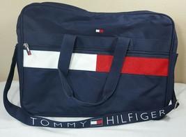 VTG Tommy Hilfiger Duffle Bag 90s Backpack Flag Colorblock Messenger Spe... - $74.99