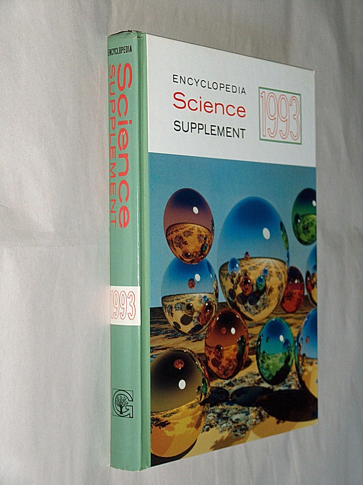 Primary image for 1993 Encyclopedia Science Supplement Replacement Hardcover Book Grolier