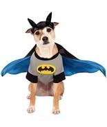 Rubies Batman DC Comics Bruce Wayne Gotham Halloween Costume Pet Dog 887835 - £11.54 GBP+
