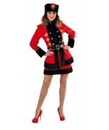 Ladies Russian Cossack Costume + Hat  - Spy / James Bond , sizes 6-22 - $55.97
