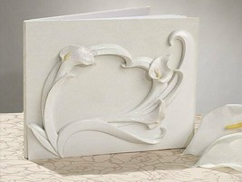 Calla Lily Guest Book Calla Lillie's Wedding Theme or any event - $11.87
