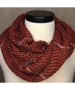 Handwoven Cowl from Red Rust Warp - $84.00