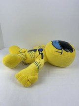 """Power Rangers Yellow Ranger 18"""" Tall  Plush Just Play Products 2016 Smok... - $17.81"""