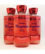 3 Bath & Body Works Iced Tangerine Mojito Shower Gel Wash 10 fl.oz 295 m... - $20.85
