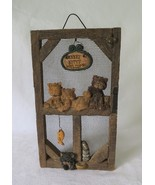 Wall Decor, Every Kitty Welcome, Cats, Fish, Tuna Cans, Mouse, Feeding D... - $12.00