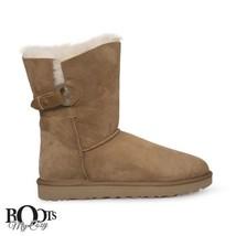 UGG NASH CHESTNUT SUEDE SHEEPSKIN CLASSIC WOMEN'S BOOTS SIZE US 10/UK 8.... - $151.99