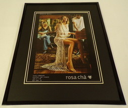Gisele Bundchen 2019 Rosa Cha Framed 11x14 ORIGINAL Advertisement - $32.36