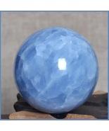 Madagascar Natural Blue Quartz Celestine Healing Energy Orb Crystal Sphe... - $193.95