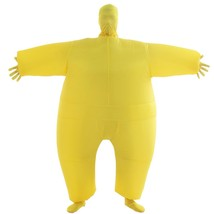 Inflatable Costumes Adult Size Halloween Body Suits Pants yellow full bo... - $18.46