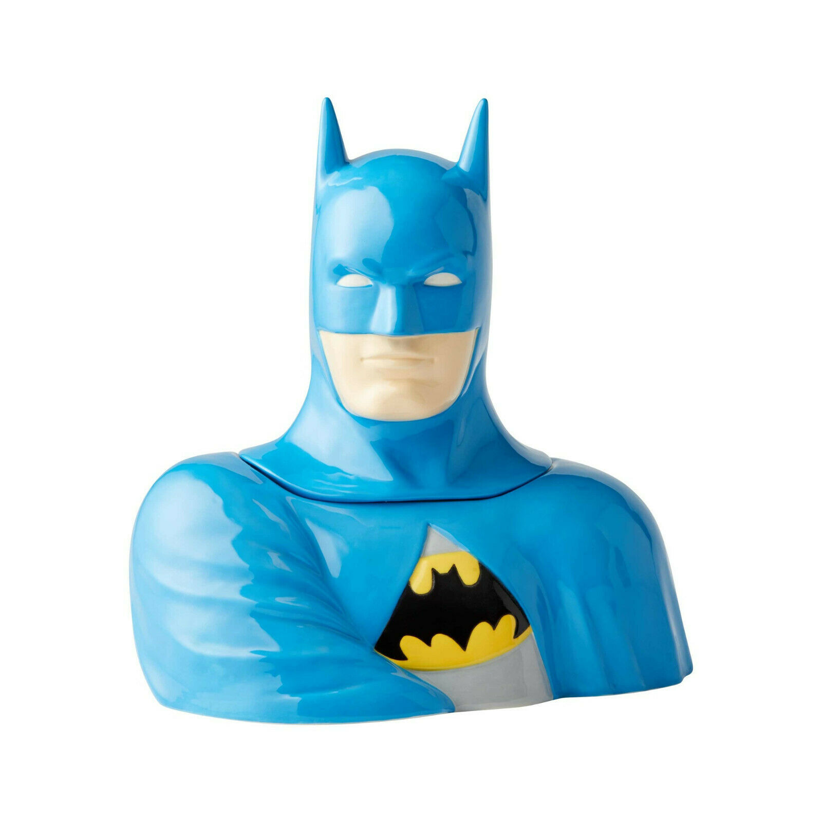 "10.5"" High DC Comic Batman Stoneware Cookie Jar Celebrates 80th Anniversary"