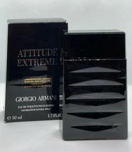 Attitude Extreme By Giorgio Armani Eau de Toilette parfume 50ml, 1.7Fl. for Men - $177.26