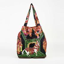 Hermes Silky Pop La Danse Du Cheval Marwari Silk Togo Leather Tote - $1,005.00