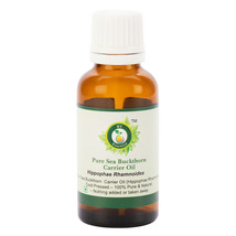 R V Essential Pure Sea Buckthorn Oil Hippophae Rhamnoides Cold Pressed N... - $9.16+