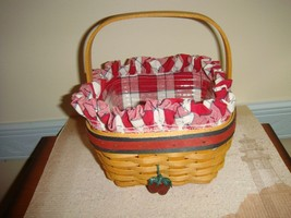 Longaberger 2001 All-American Strawberry Set - $24.99