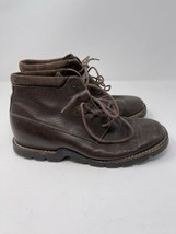 COLE HAAN Mens Brown Leather Lace-up Ankle Country Vintage Boots Size 8.5B - $31.68