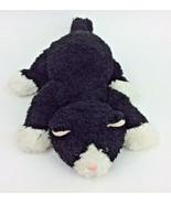 "Gund Fritz Black White Kitty Cat #60007 Plush Stuffed Animal 10"" Laying - $125.70"