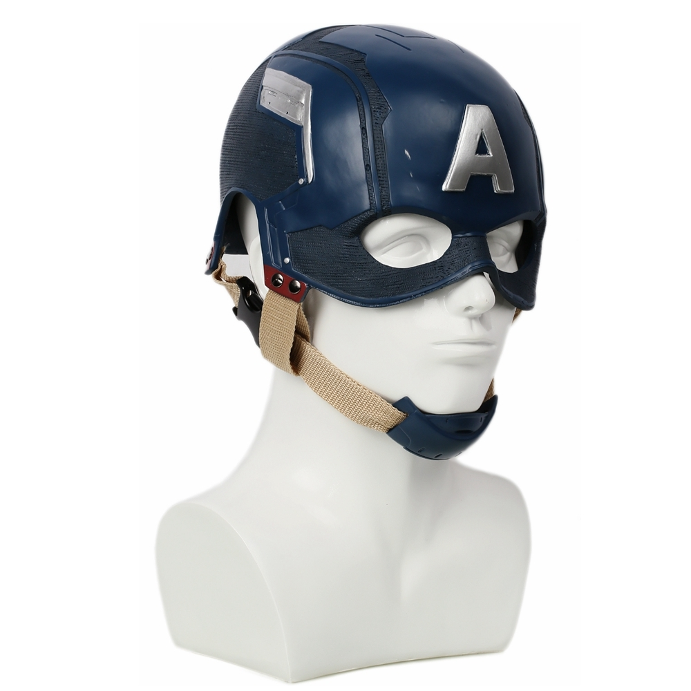 Captain America 3: Civil War Helmet Movie Cosplay Props for Adult image 3