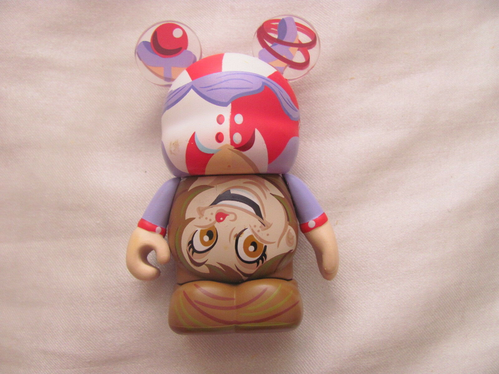 "Primary image for Disney Vinylmation - Under The Groß Top Serie Acrobat Vinylmation 3 "" Figur"