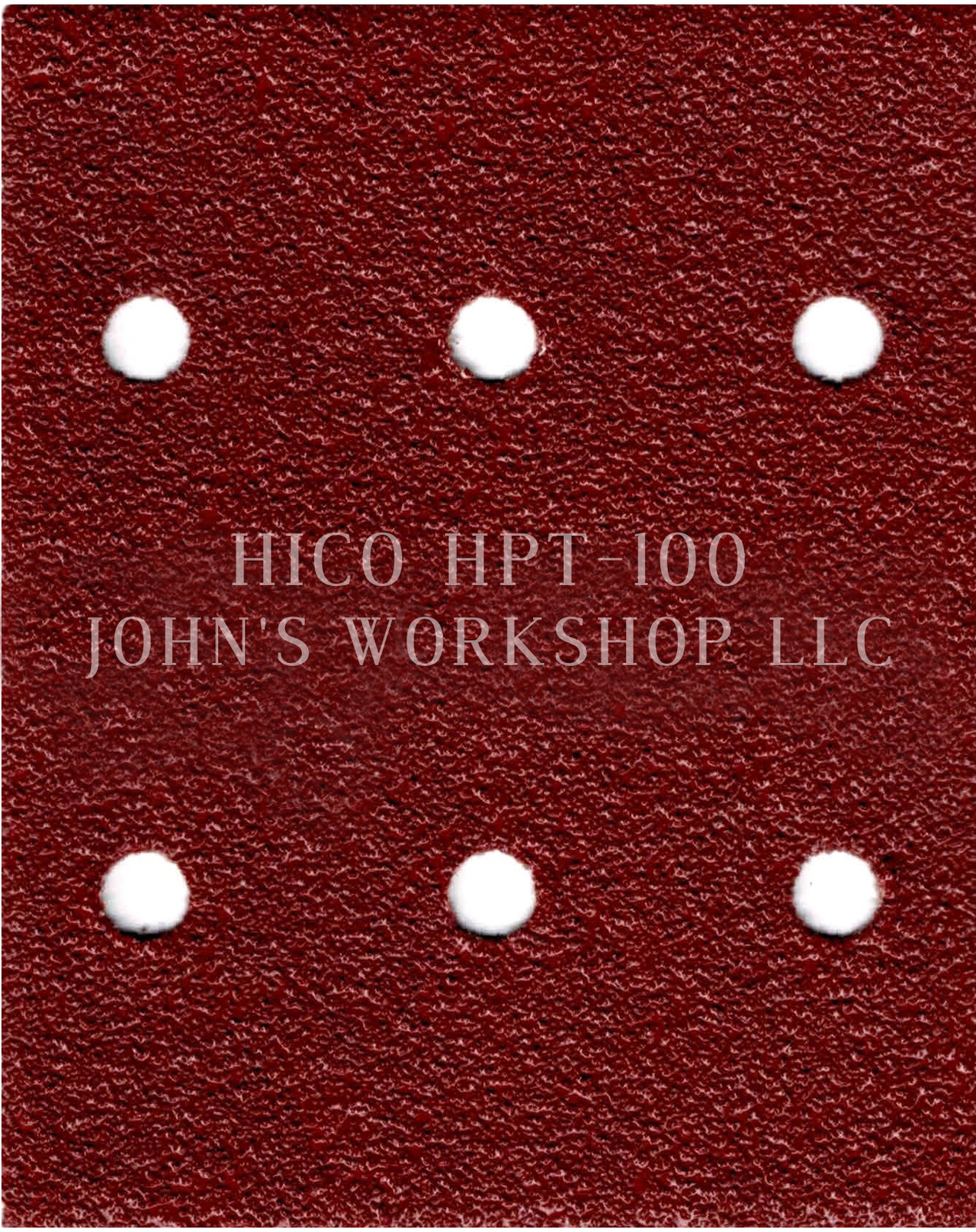 Primary image for Build Your Own Bundle of HICO HPT-100 1/4 Sheet No-Slip Sandpaper - 17 Grits!