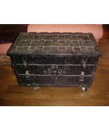 TREASURE CHEST 16th 17th CENTURY WROUGHT IRON ARMADA BOX ARTIFACT PIRATE... - $10,500.00