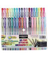 Sargent Art 22-1497 36ct Assorted Gel Pen Set New - $19.99