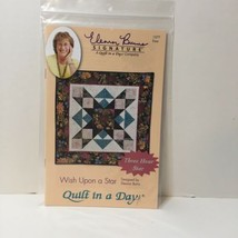 Wish Upon a Star Quilt Pattern Eleanor Burns Quilt in a Day 3 Hour Star - $11.64