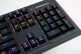 Maxtill G410K Pro Mechanical Gaming Keyboard Jixian Optical Switch USB Wired LED image 6