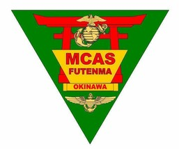 USMC Marine Corps Air Station Futenma Sticker Military Armed Forces  - $9.89