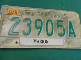 Collectible License Plate Tag......INDIANA TK07 90 Madison 23905A - $8.50