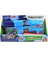 Squirt Gun Summer Swimways Flood Force Tempest Water Gun Blue & Orange - $10.88