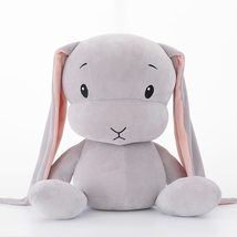 30CM Cute rabbit plush toys Bunny Stuffed  Animal Baby Toys doll Gray - $15.00
