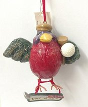Golf Is Life Golfing Bird Ornament - $15.00