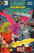Lords of the Ultra-Realm DC Comics No. 6 1986 - $8.95