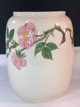 """Vintage Franciscan Ware Desert Rose 9"""" Cookie Jar Vase No Lid #137 - $19.79"""