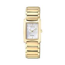 New Citizen Women´s Eco Drive Gold Watch EG2973 55D - $224.98