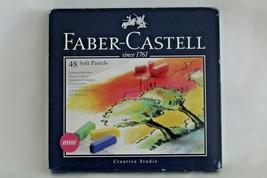 Faber Castell Creative Studio Set Pastel Suave Mini Artista Dibujo 48 Co... - $15.82