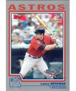 Lance Berkman ~ 2004 Topps Opening Day #13 ~ Astros - $0.30