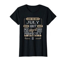 Brother Shirts - 21th Birthday Gift 21 Years Old Legends Born In July 19... - $19.95+