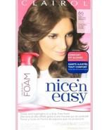 1 Clairol 6G Light Golden Brown Nice'n Easy Hair Color Blend Foam Permanent - $12.38
