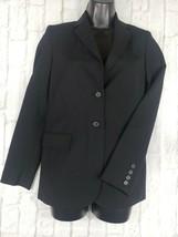 Banana Republic Women's Size 2 Black Wool Stretch Tailored Blazer - $10.40