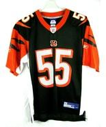 Nike On Field Cincinnati Bengals Rivers  #55 Sz M Football Jersey NFL NWT - $29.69