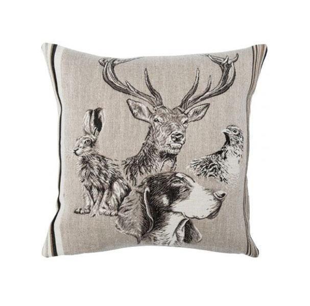 Forest Spirit Cerf European Cushion