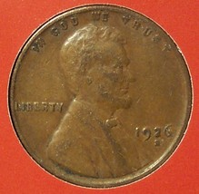 1926-S Lincoln Wheat Back Penny VF20 #213 - $12.99