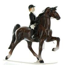Hagen Renaker Specialty Horse Dressage with Rider Ceramic Figurine image 3