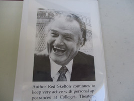 Red Skelton Author Signed Autograph The Great Lazarus Fiction Novel 1986 - $25.01