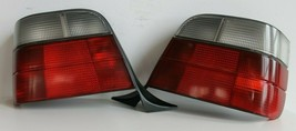 Tail Lights BMW E36 Touring Wagon OEM Clear Facelift Euro Rear Set 1992-1998 - $157.41