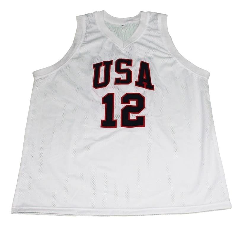 James Harden #12 Team USA New Men Basketball Jersey White Any Size