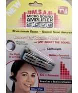 M.S.A. Micro Sound Ear Amplifier 9000 - $24.49